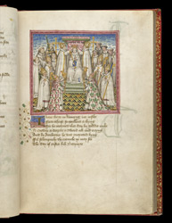 The Coronation Of Edmund, In John Lydgate's 'The Lives Of Sts. Edmund And Fremund'